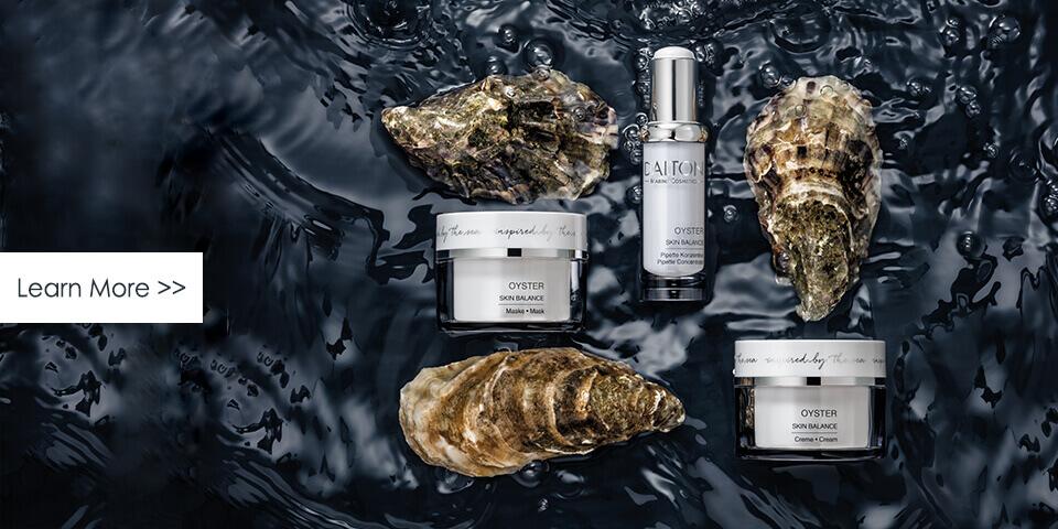 Oyster skincare for men