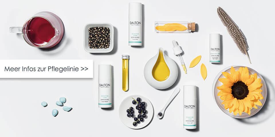 Zur Gesichtspflege für sensible, zu Allergien neigende Haut