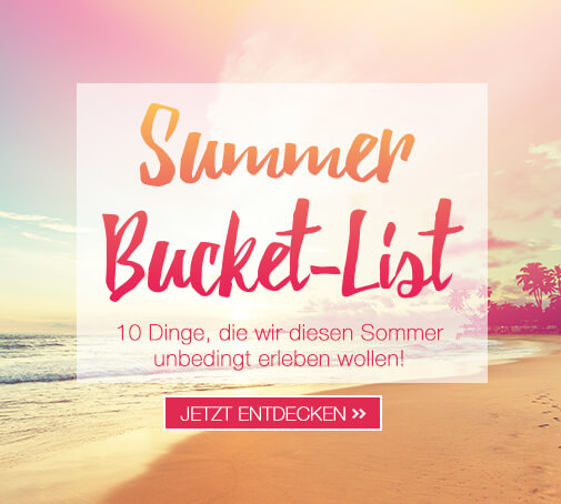 Themenwelt Summer Bucket-List