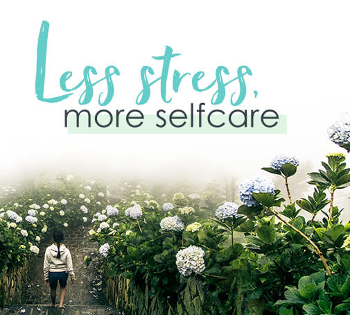 Themenwelt Less stress, more selfcare