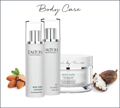 skincare routine body care