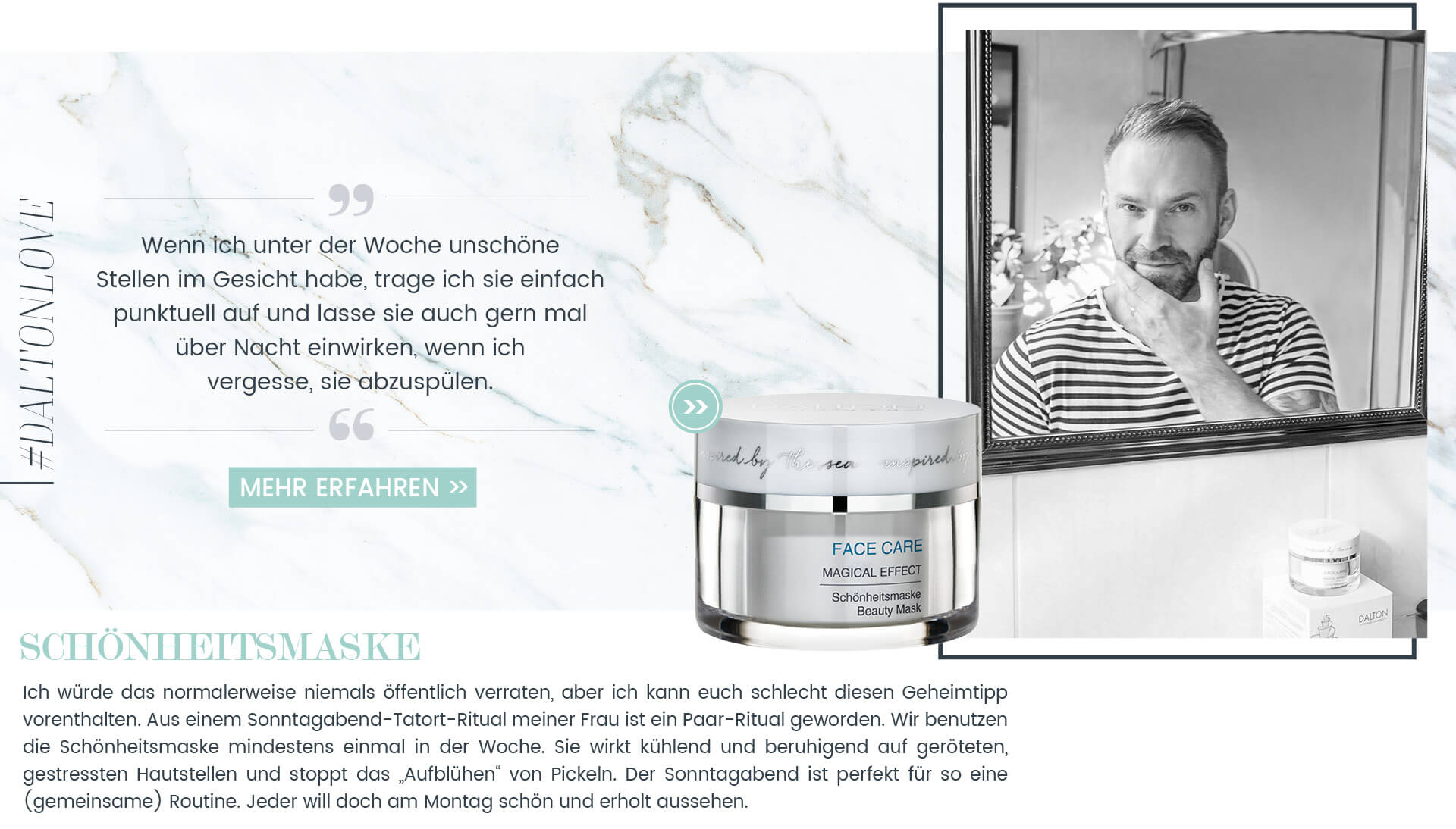 Weiße Schönheitsmaske gegen Pickel von daddy_co.ol