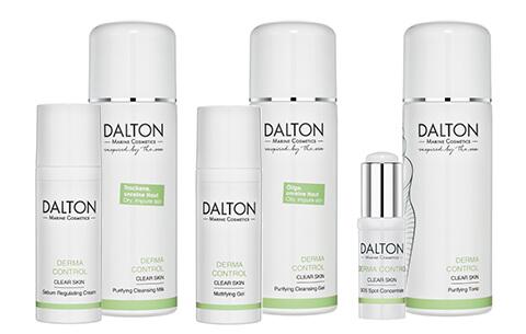 DERMA CONTROL Pflegeprodukte für unreine Haut