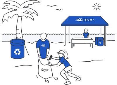 4Ocean Coastal Cleanups
