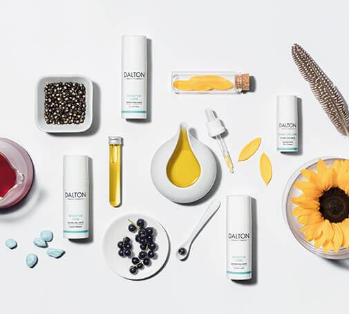Hautpflegeprodukte für die sehr empfindliche, zu Allergien neigende Haut