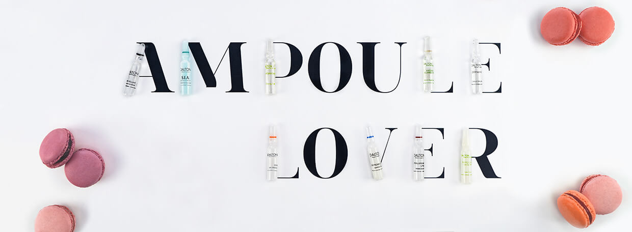 Find the right DALTON Ampoule for your skin