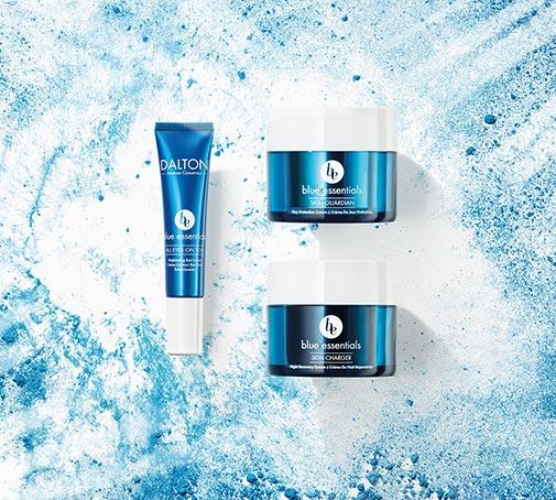 Produkte zum Schutz vor blauem Licht und Umweltbelastungen