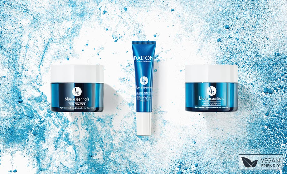 Blue Essentials anti-pollution and blue light skincare