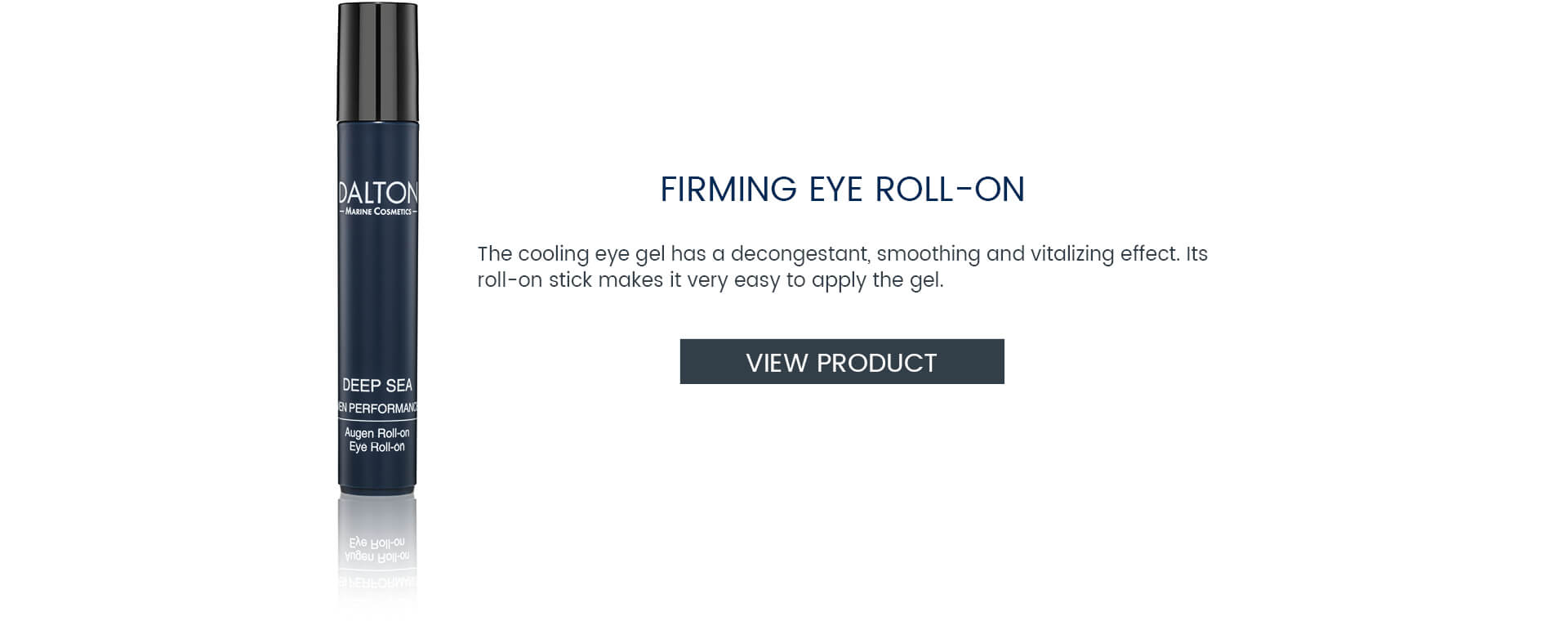 Eye Gel for men's skin