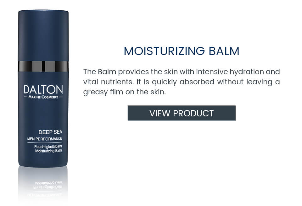 Moisturizing Balm for men's skin