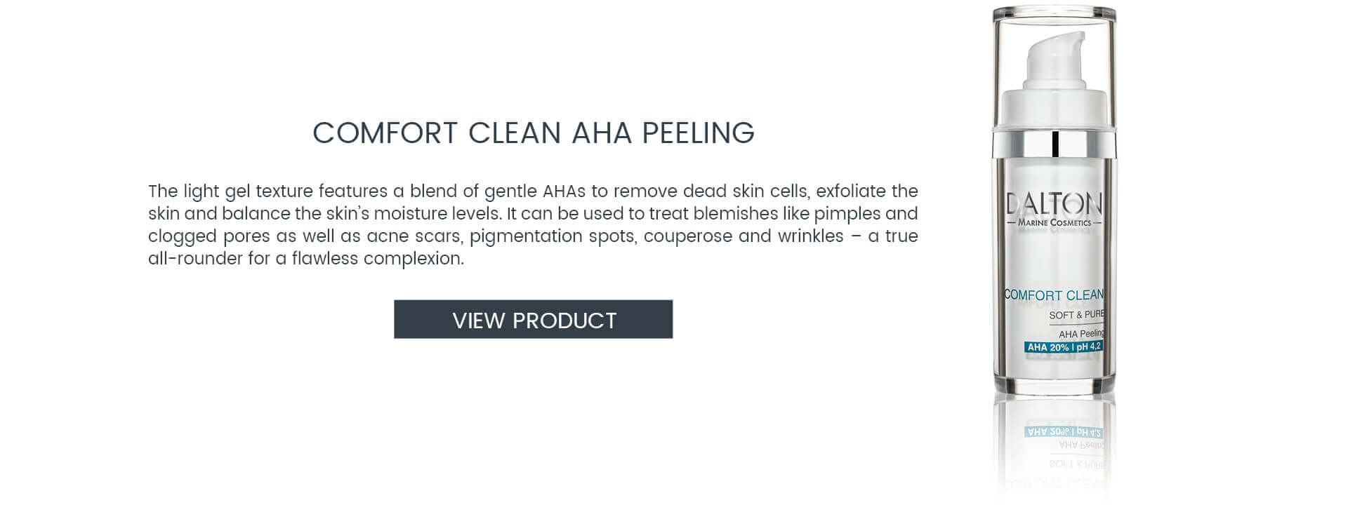 AHA Peeling to treat pimples and blemishes