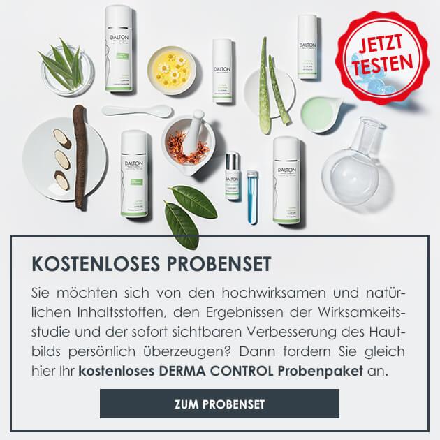 Zum Anti-Pickel Probenset für fettige unreine Haut und trockene unreine Haut