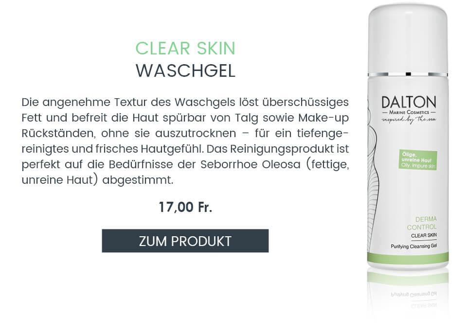 Anti-Pickel Waschgel für fettige unreine Haut