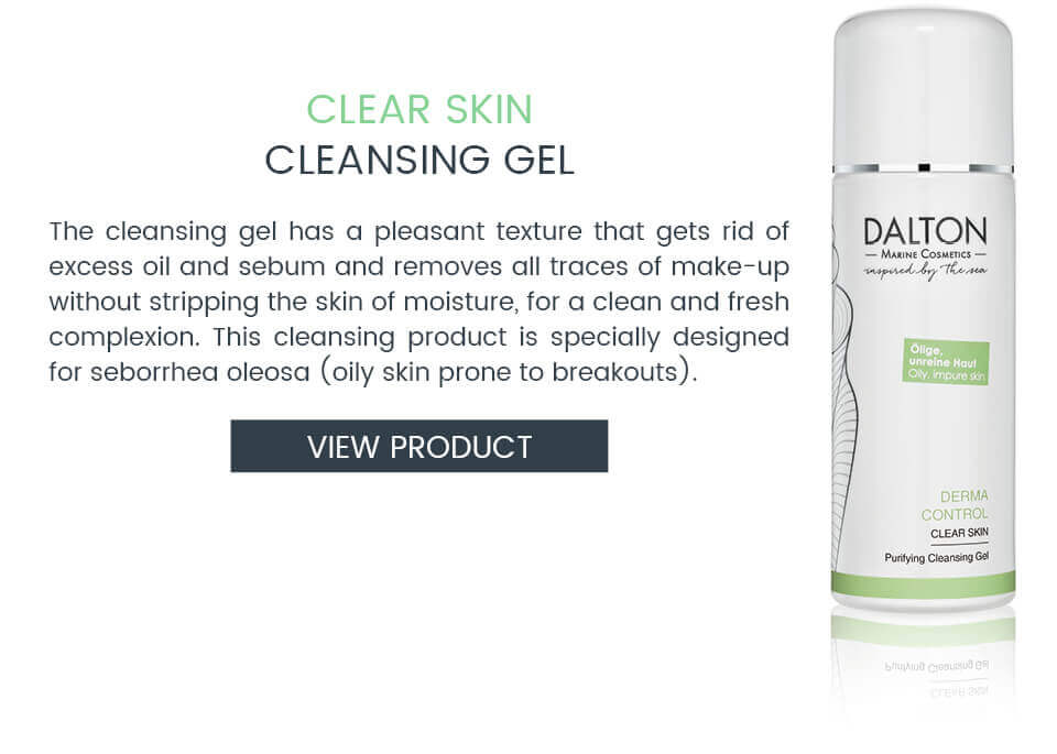 Anti-pimple cleansing gel for oily skin with blemishes