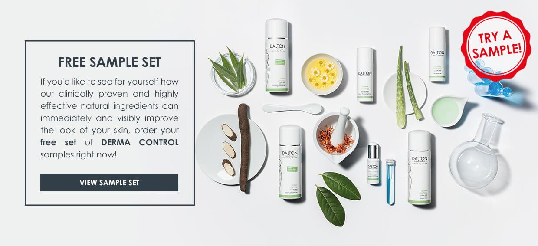 Derma Control product samples