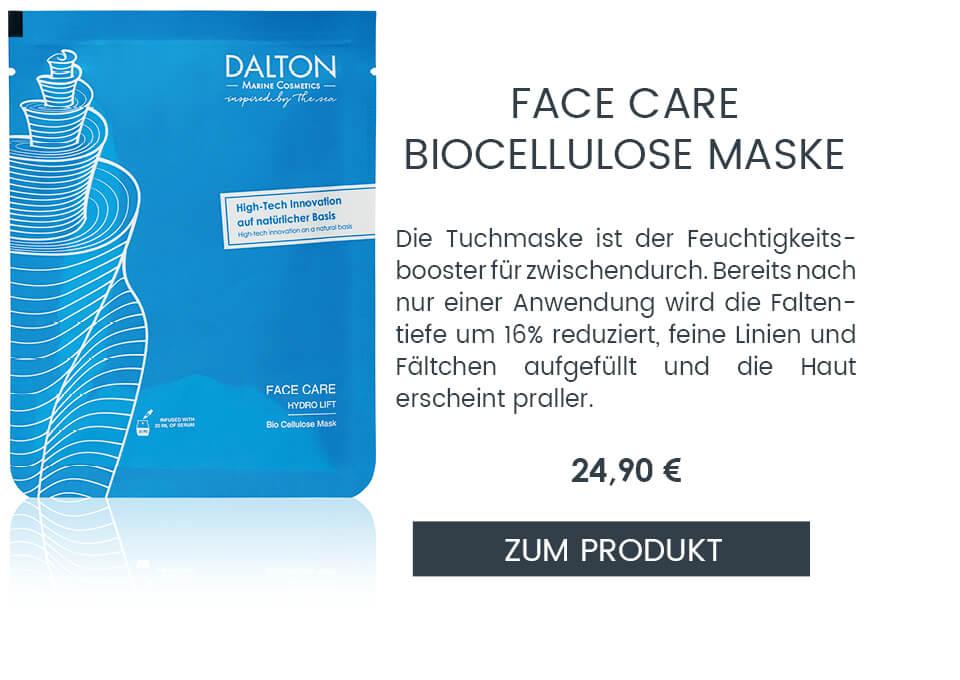 Feuchtigkeitsspendende Tuchmaske gegen Falten