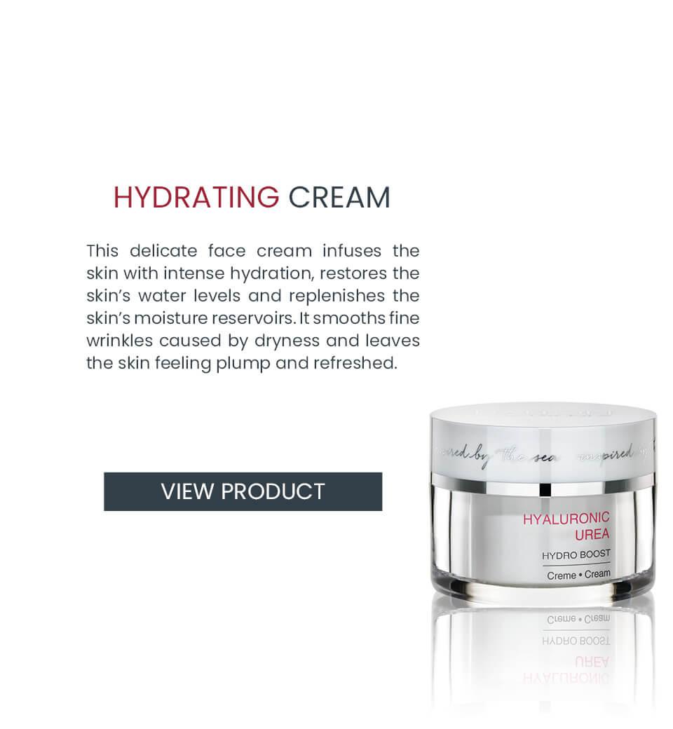 Moisturizing cream with anti-aging effect