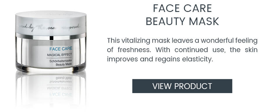 FACE CARE Beauty Mask for a fresh appearance