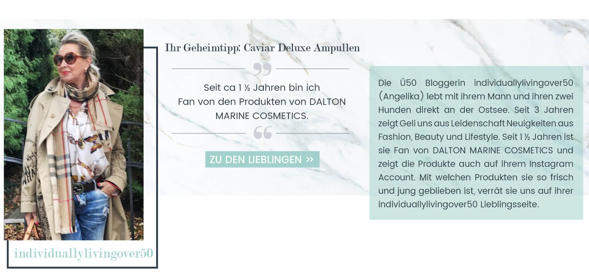 DALTON Lieblingsprodukte von individuallylivingover50