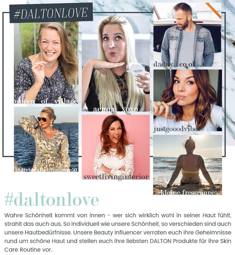 Die Dalton Lieblingsprodukte von den DALTON Influencern