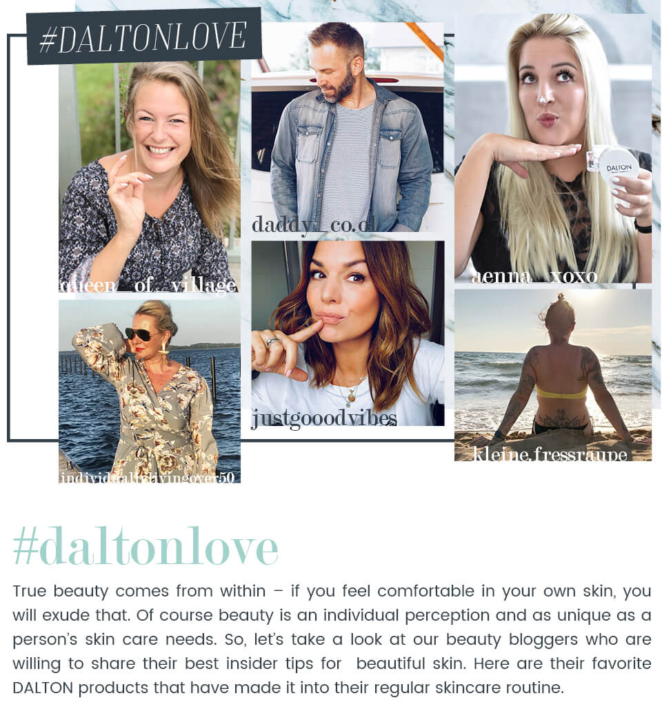 Our influencers' favorite DALTON products