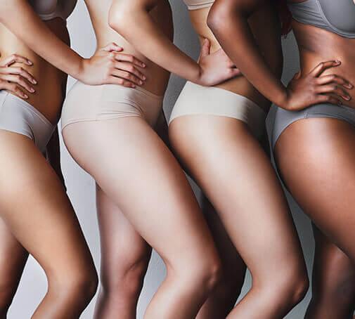 Körperprodukte für fettarme Haut