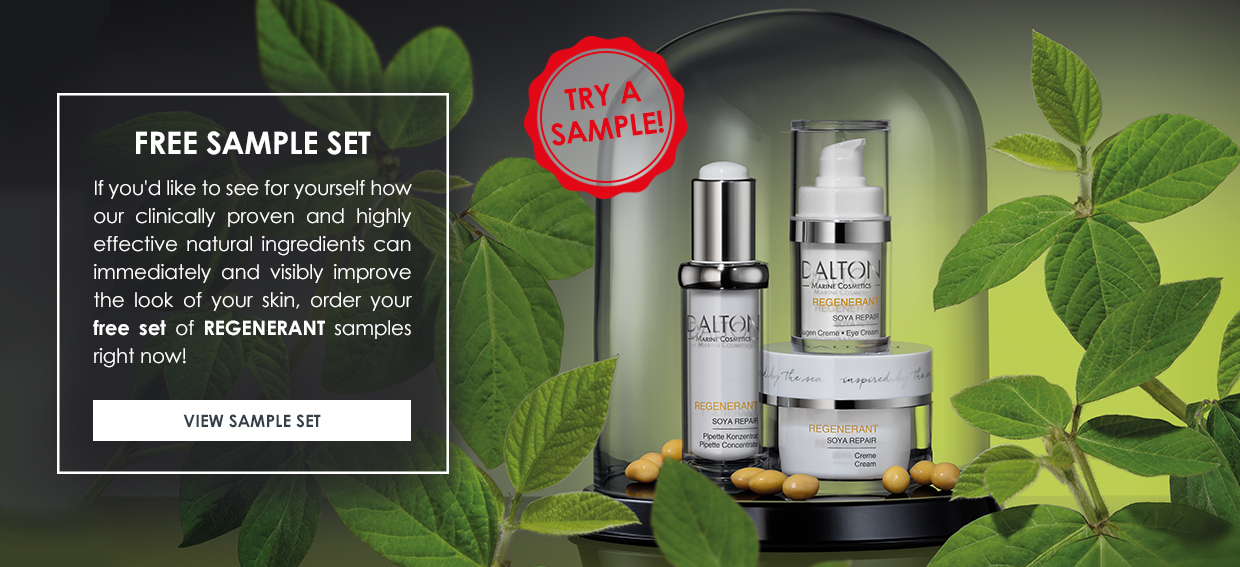 Product samples for skincare newbies