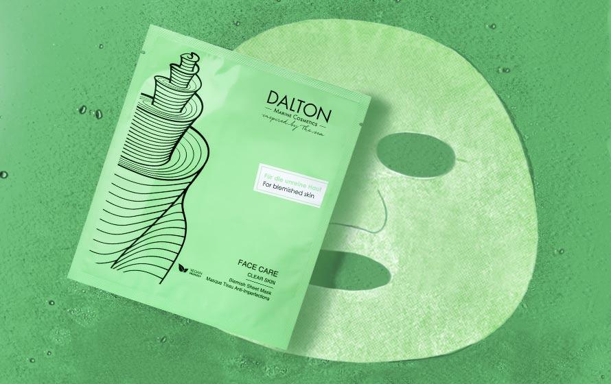 Anti-Pickel Maske für unreine Haut