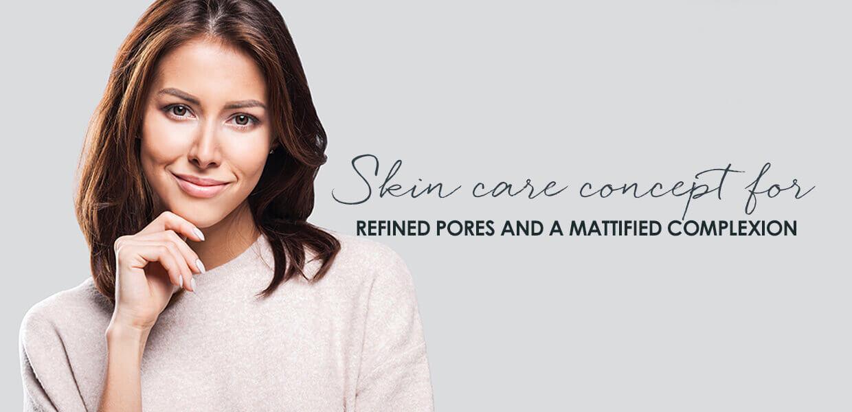 DALTON Oyster Skin Balance products for combination skin