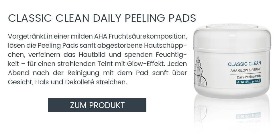 AHA Peeling Pads – Milde Fruchtsäure Pads für zu Hause
