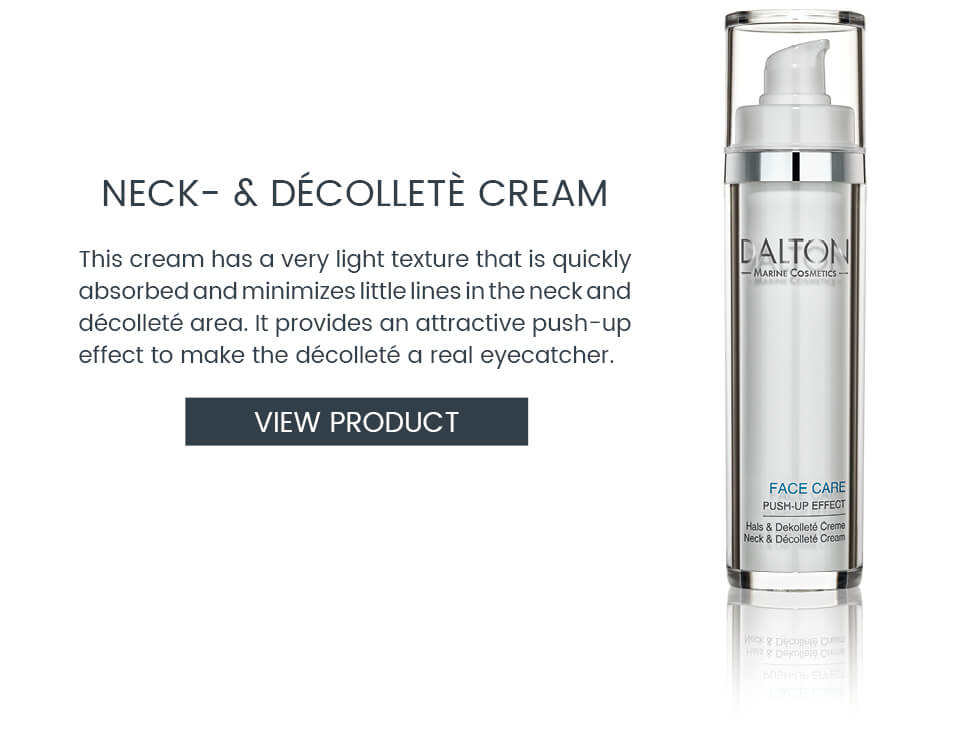 Firming cream for neck and décolleté
