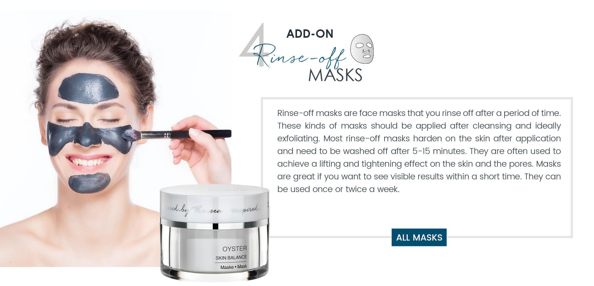 Dalton skincare ritual Masks