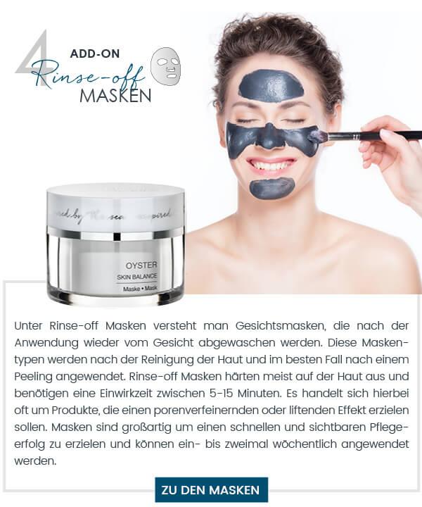 Dalton Pflegeritual Gesichtsmasken