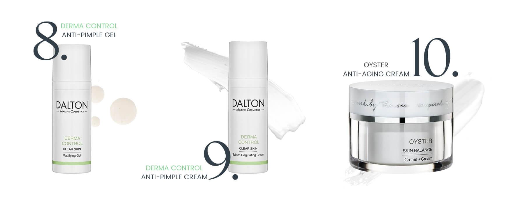 Anti-pimple moisturizers