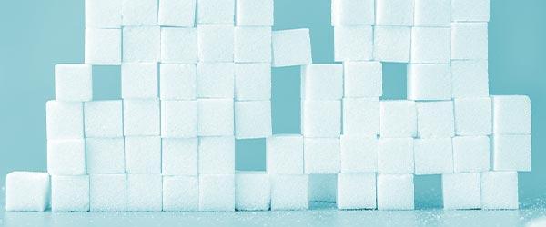 Zucker kann Pickel fördern