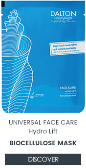 Reduce wrinkles with Bio Cellulose Mask by DALTON