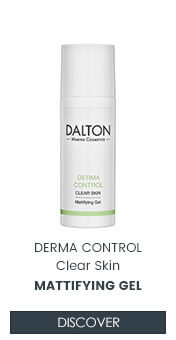 Mattifying gel for oily skin and pimples