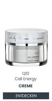 Zellaktivierende Q10 Wirkung dank dieser Creme