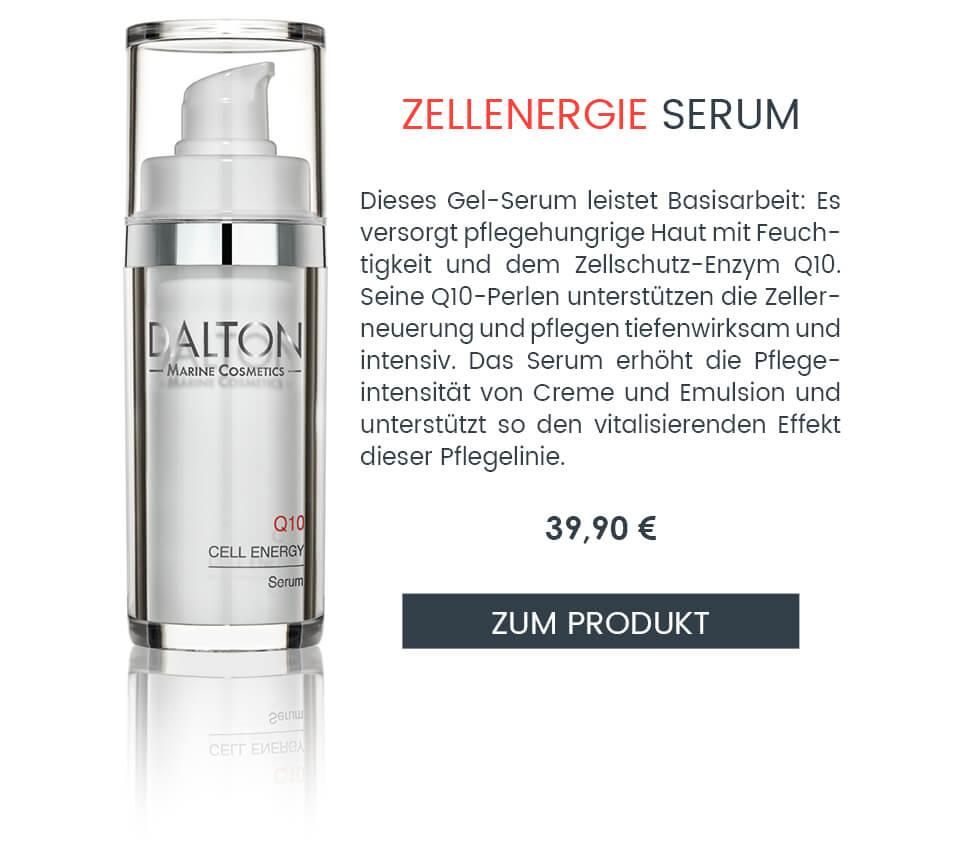 Anti-Aging Serum mit Q10 für fettarme Haut