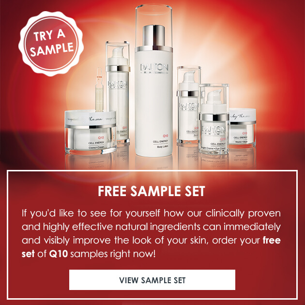 Free skin care samples for dull and dry skin