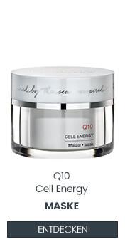 Q10 Gesichtsmaske für trockene fettarme Haut