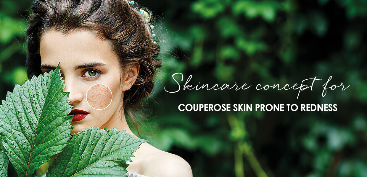 Redness Control Couperose collection overview