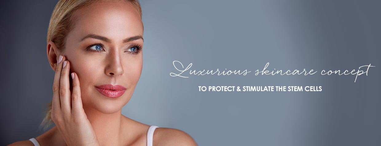 Premium products to activate the skin's stem cells