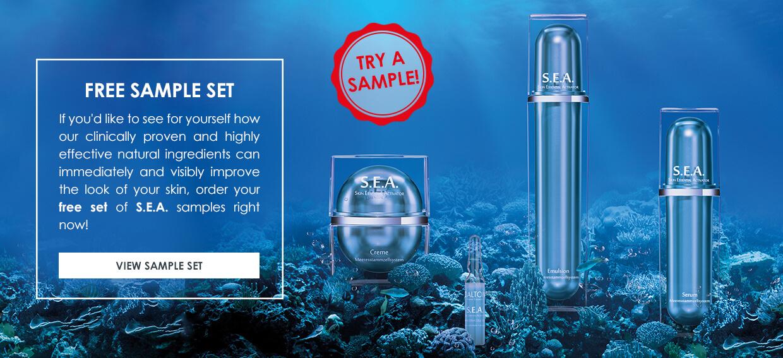 Premium Anti-aging skin care samples
