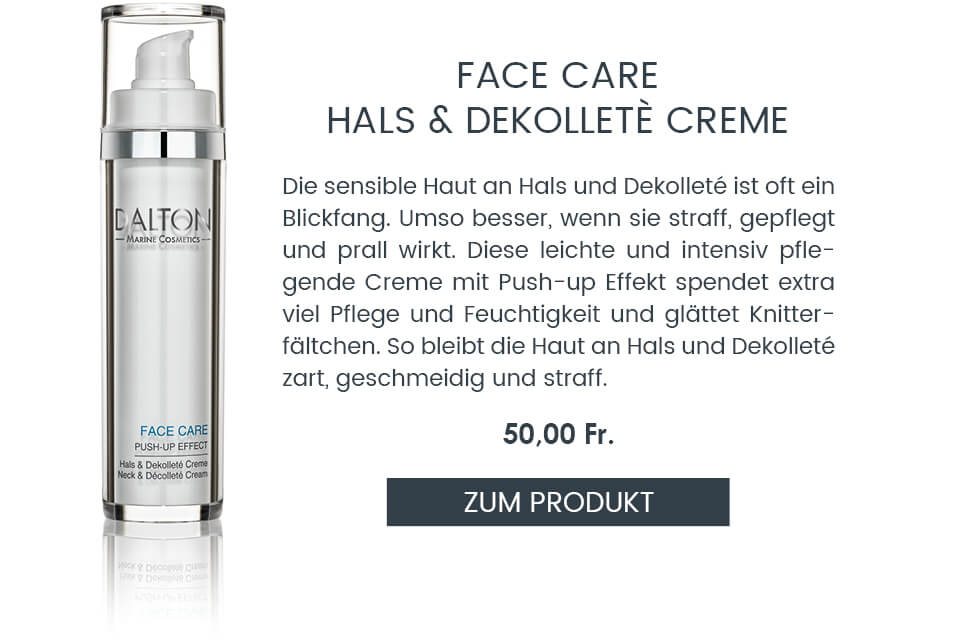 Face Care Hals und Dekolleté Creme