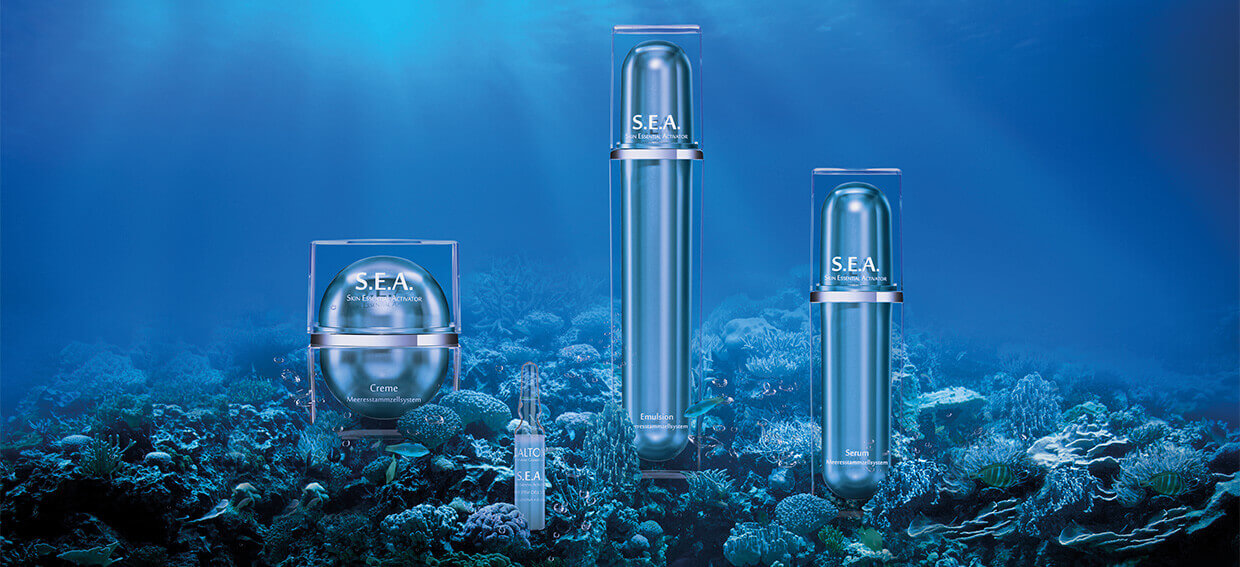SEA Stem Cell Skincare for demanding, mature skin