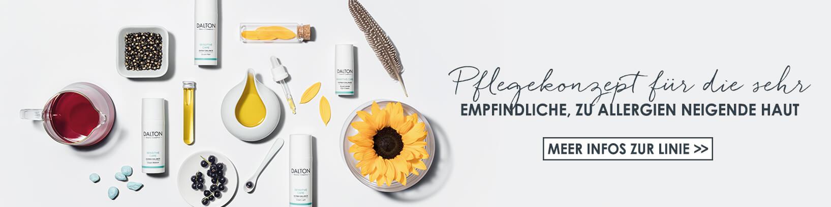 Produkte für empfindliche Haut