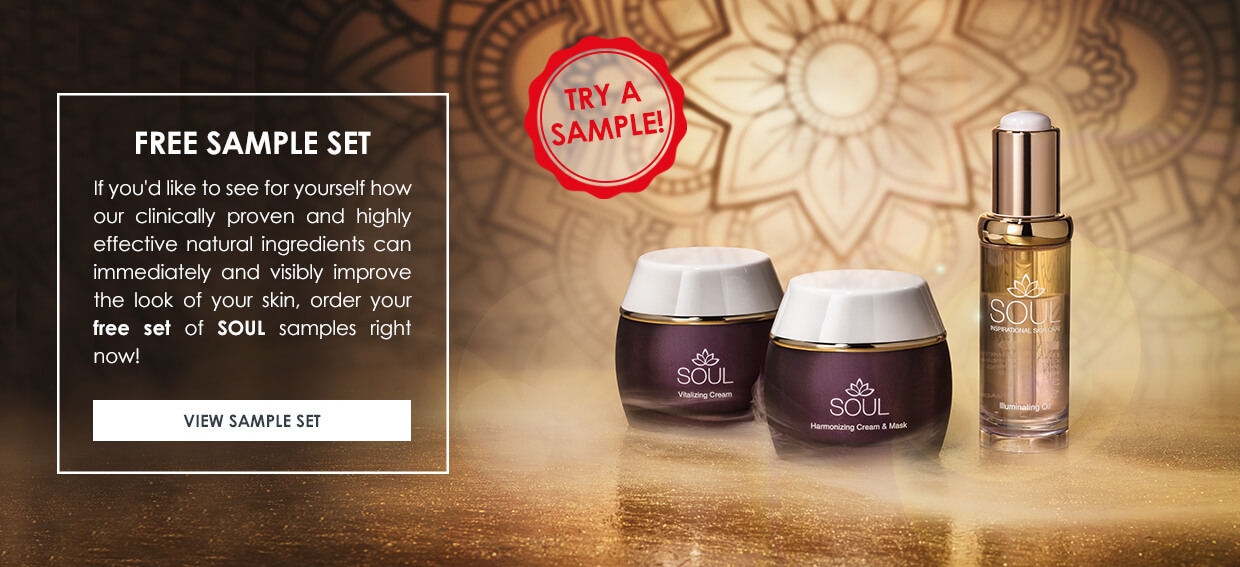 Product samples - Inspirational Skincare