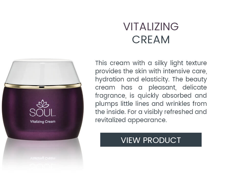 SOUL Cream for better hydration and skin elasticity
