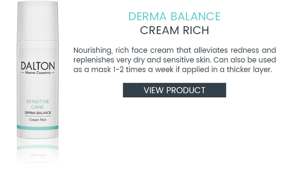 Rich, nourishing face cream for sensitve skin